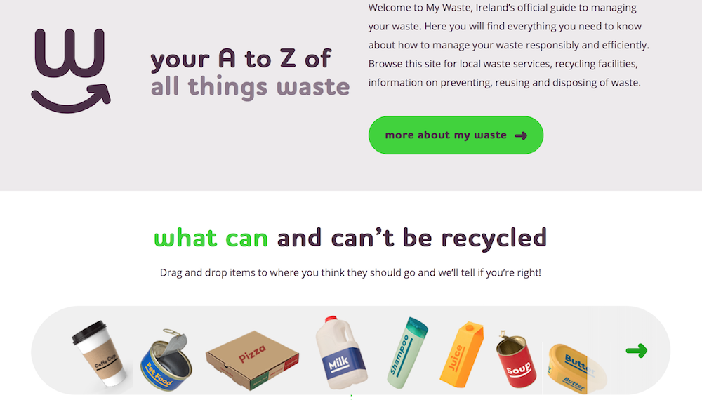 What can and cant be recycled in Ireland - The official list